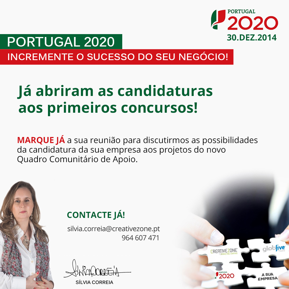 Candidaturas aos fundos europeus do Portugal 2020. f12f9f9e11041